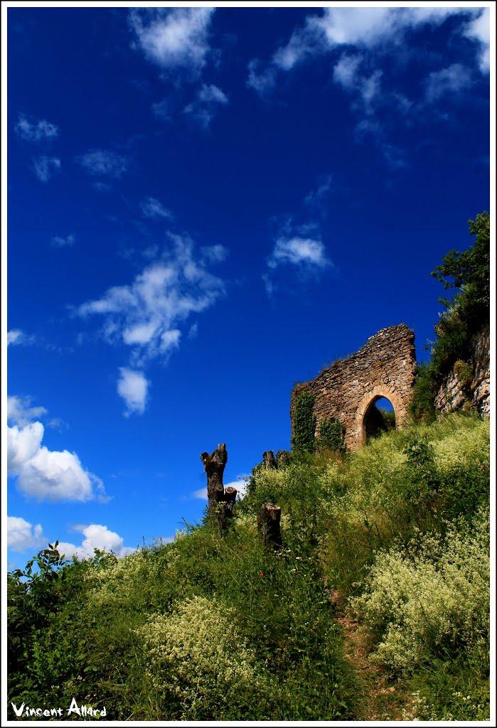 Les ruines du Château de St Germain